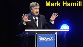 Mark Hamill Receives Disney Legends Award at D23 Expo 2017; Talks Disney Influence & Carrie Fisher