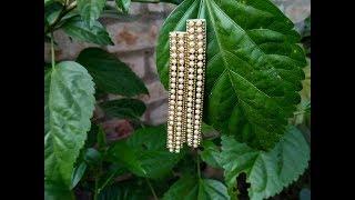 DIY New design handmade earrings fashionable chain earrings making handcraft