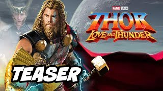 Thor 4 Teaser Love and Thunder - Marvel Phase 4 Easter Eggs Breakdown