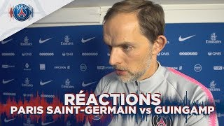 RÉACTIONS: PARIS SAINT-GERMAIN vs GUINGAMP