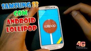 Instalar Android Lollipop Samsung Galaxy S3 i9300 PT