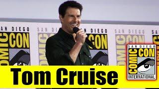 Download Lagu TOM CRUISE Surprises Fans at Comic Con for TOP GUN: MAVERICK | 2019 Comic Con Gratis Mp3 Pedia