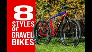 8 STYLES OF GRAVEL BIKES