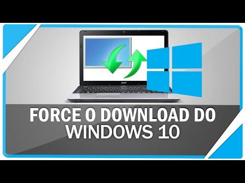 Como forçar o download do Windows 10 pelo Windows update