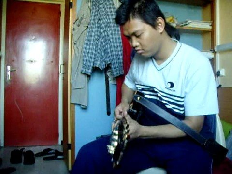 Playing brown skin girl with my PRS Paul Allender Signature