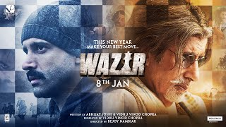 Wazir - Official Trailer | January 8, 2016
