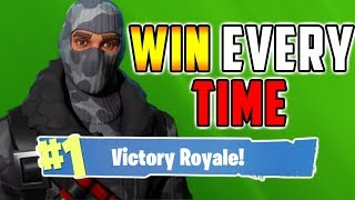HOW TO WIN EVERY TIME - Fortnite Battle Royale Tips - Xbox, PS4, PC