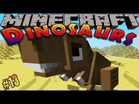 Minecraft Dinosaurs - ( Dinosaur mod ) - Episode 13 -ANOTHER NEW DINOSAUR?!