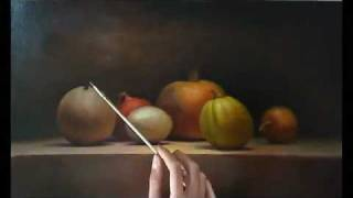 Still life painting demo