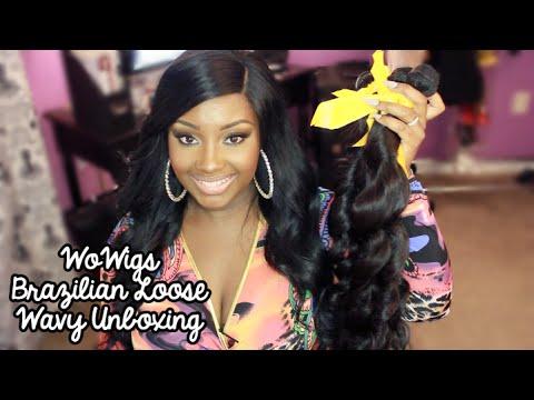 Unboxing | WoWigs Brazilian Loose Wavy Hair Extensions!  (Aliexpress)