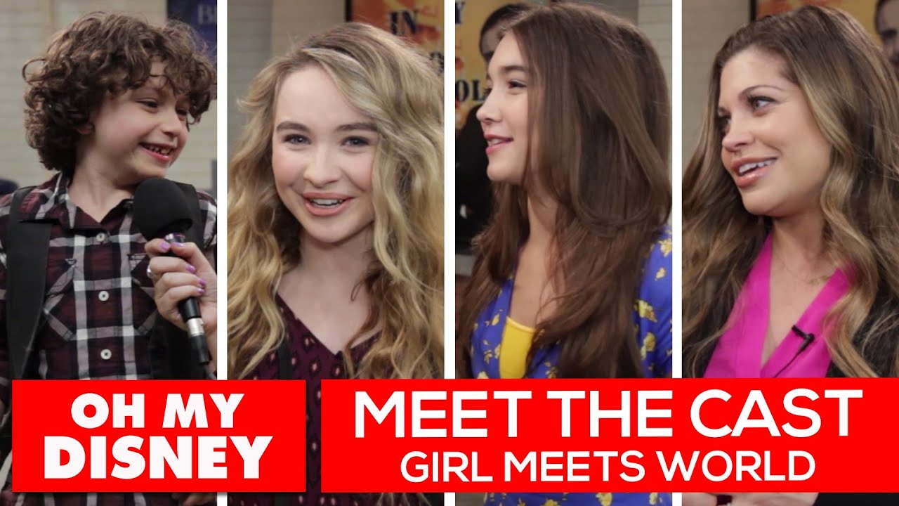 girl meets world cast list Ben savage: danielle fishel and see the cast of boy meets world posing with their younger selves with topanga and cory's return to girl meets world.