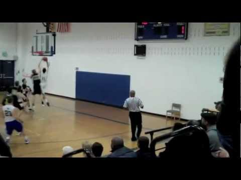 Josh Seligman 2011-12 Highlights Edmund Burke School Class of 2013 #35