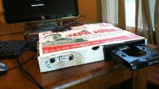 Custom-Built Computer - In Pizza Box Must See