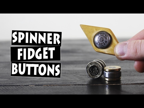 DIY Hand Spinner Fidget Toy Finger Buttons