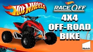 Hot Wheels Race Off - 4X4 Off-Road Bike