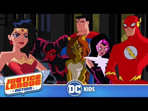 Justice League Action | Quality Time | Episode 7