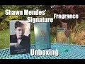UNBOXING - Shawn Mendes Signature Fragrance!