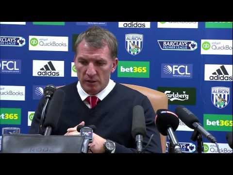 Brendan Rodgers laments departure of Suarez & injuries to Sturridge after West Brom draw