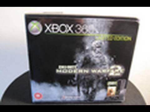 XBox 360 Super Elite 250GB COD MW2 Ltd Edition