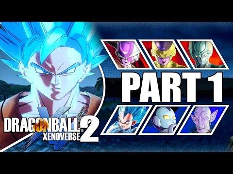 THE RETURN OF THE EMPEROR!!!   Dragon Ball Xenoverse 2 Resurrection F Saga Walkthrough Part 1