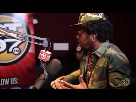 Trinidad James Stops By Hot 97 and Rosenberg Expresses His Hate for All Gold Everything