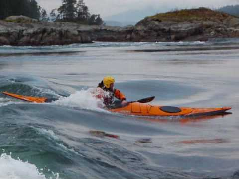 Sea Kayak Surfing...