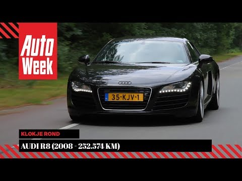 Audi R8 4.2 FSI - 2008 – 252.549 km - Klokje Rond - English subtitles