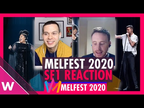 Melodifestivalen 2020: Semi-Final 1 Results: Robin Bengtsson and The Mamas (REACTION)