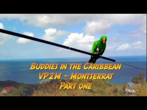 KX3 on VP2M-Montserrat Mini-DXpedition with Buddies in the Caribbean - Part I