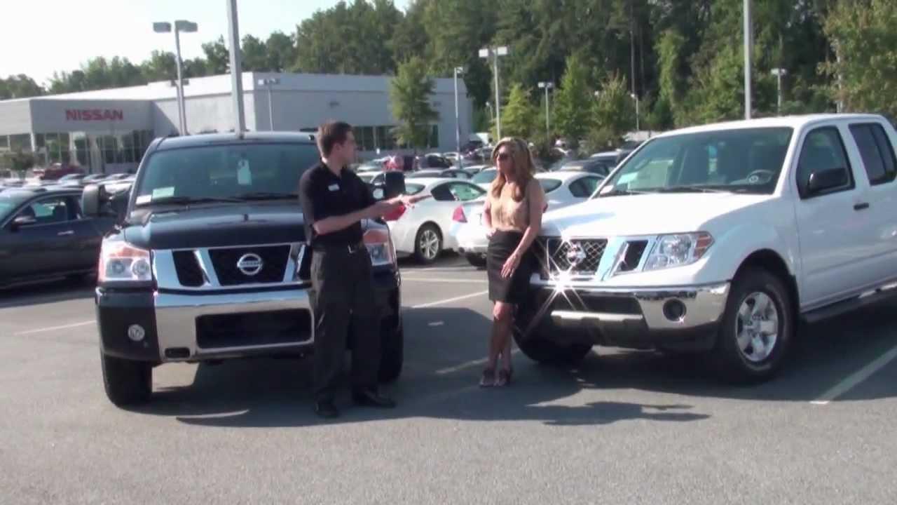 2011 Nissan Titan SV Amp Frontier SV YouTube