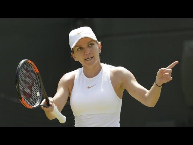 Simona Halep crashes out of Wimbledon, Rafael Nadal advances