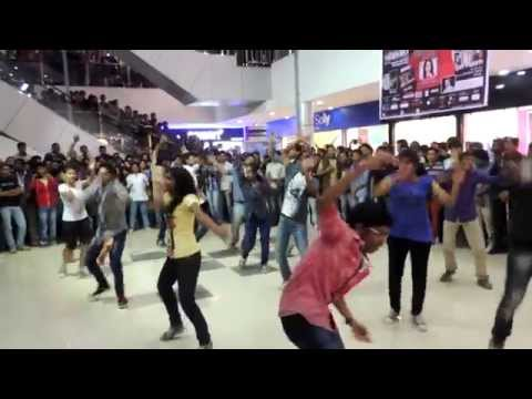 FLASHMOB at GolDighi Mall by NIT Silchar students