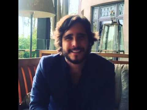 Diego Boneta Talking about his character in