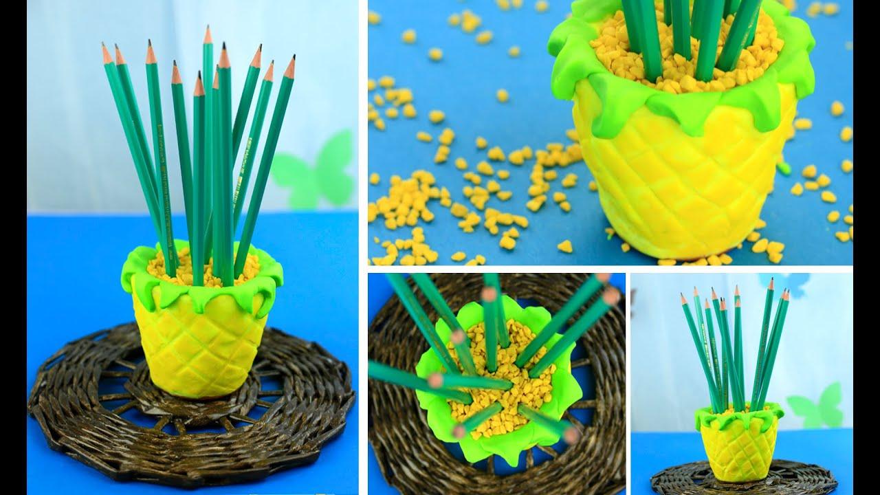 Модульное оригами. Карандашница 18