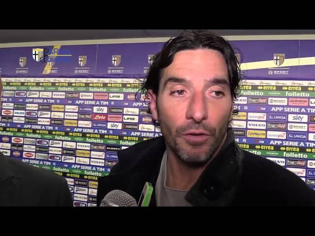 Intervista a capitan Alessandro Lucarelli dopo Parma-Cagliari
