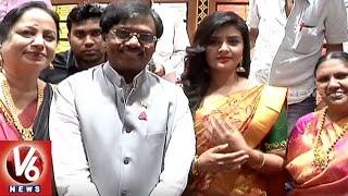 Govt Advisor G Vivek Launches Ameya Shopping Mall In Mancherial