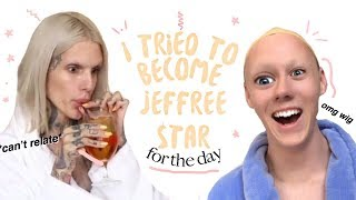 I TRIED LIVING LIKE JEFFREE STAR FOR A DAY +mukbang /makeup/ more *iconic*