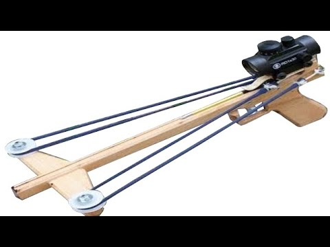 Slingshot Crossbow Pistol + TUTORIAL + Templates
