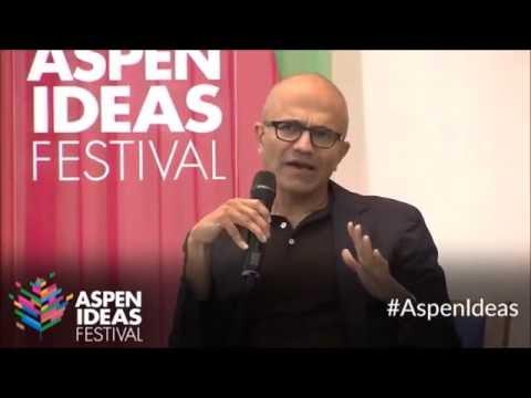 Satya Nadella on AI at ASPEN IDEAS FESTIVAL - July