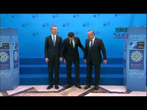 Meeting of NATO Foreign Ministers in Turkey's Antalya