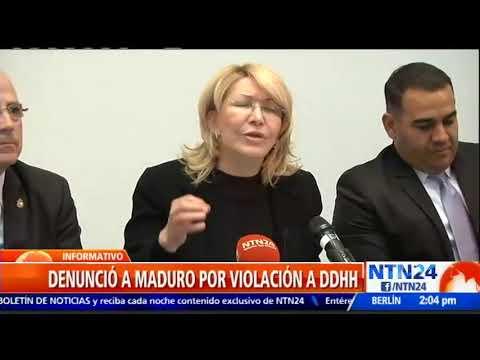 Luisa Ortega Díaz retó al vicepsdte  y fiscal de Venezuela a colocar la denuncia ante la Interpol