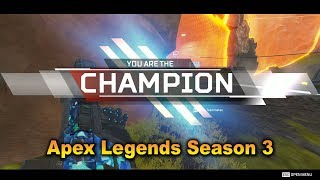 Apex Legends Champion 2019 Last team standing walk through