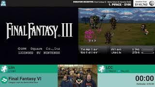 Final Fantasy VI (No Sketch Glitch Race) by Liin and LCC (RPG Limit Break 2018 Part 40)