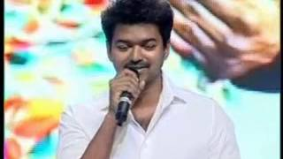 Thuppakki - VIJAY TALKING IN TELUGU IN THUPPAKI TELUGU MOVIE AUDIO FUNCTION