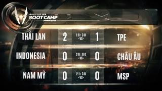 Việt Nam vs Thái Lan WC - Vòng bảng AWC Bootcamp 18/6/2018 Thái Lan - Garena Liên Quân Mobile