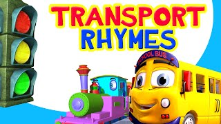 Vehicle and Transport Songs Collection   including Wheels on the Bus   Infobells
