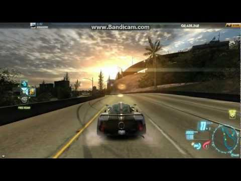 NFS World-Ultra Tuned Pagani Zonda Cinque Performance Test