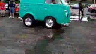 VW Micro Mini Bus , Wheelie