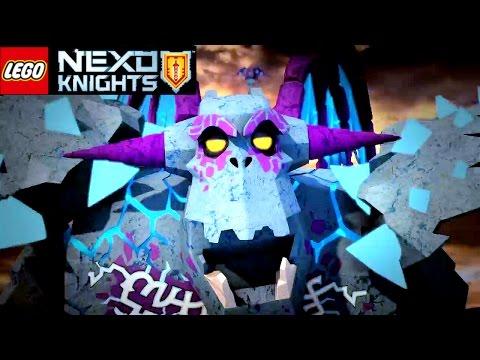 LEGO Nexo Knights сканировать Nexo силы 2017 в игре + выбрать Гримрок Лего Нексо Найтс