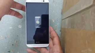 HTC ONE M8 HARD RESET  FASTBOOT ON / OFF
